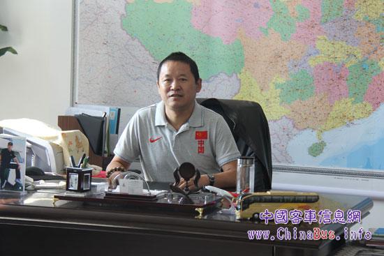 记者在距离青海省会西宁市区不远的大通县见到了桥电运输总经理杨启寿